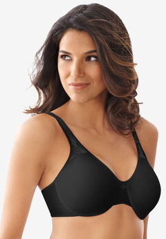 Bali® Best Seller Passion for Comfort Seamless Minimizer     Underwire Bra, BLACK