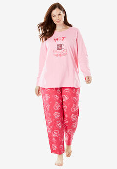 Holiday Print PJ Set by Dreams & Co.®,