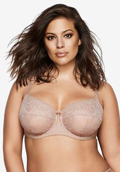 Essential Fatal Attraction Bra by Ashley Graham®, CAPPUCCINO