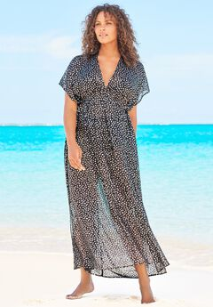 Long Caftan Cover Up ,