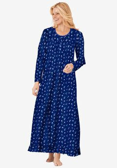 Long sleeve gown by Dreams & Co.®,