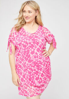 Tie-Dye Breeze Swim Cover-Up,