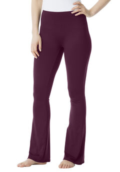 Bootcut Shaping Legging by Secret Solutions®, MIDNIGHT BERRY, hi-res
