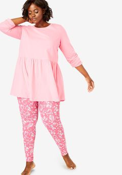 Tiered Pajama Set by Dreams & Co.®,