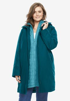 3-in-1 Hooded Taslon® Jacket,