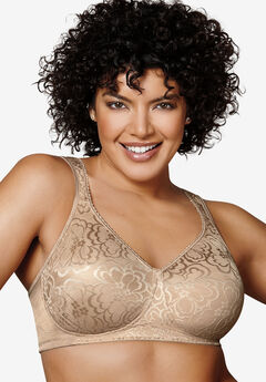 Bra, wireless ultimate lift & support by Playtex® 18 Hour, NUDE