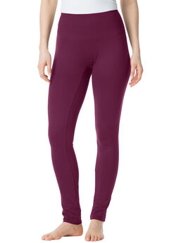 Shaping Leggings by Secret Solutions®, MIDNIGHT BERRY, hi-res