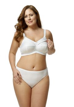Cotton Nursing Soft Cup Bra,
