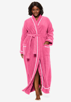 1de1d75a143fa Spa Terry Long Wrap Robe by Dreams   Co.®