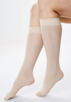 3-Pack Knee-High Support Socks by Comfort Choice®,
