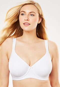 Leading Lady® Brigitte Classic Underwire Padded T-Shirt Bra,