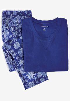2-Piece Thermal Pajama Set by Dreams & Co.®,