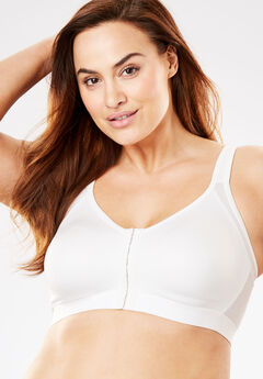 Everyday Embrace Wireless Back-Smoothing Cooling Bra by Comfort Choice®,