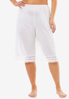 Snip-to-fit culotte underliner by Comfort Choice®, WHITE, hi-res