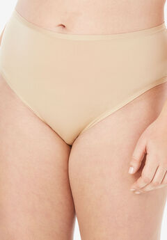 Ultra Light Supersoft High-Cut Brief by Comfort Choice®, NUDE