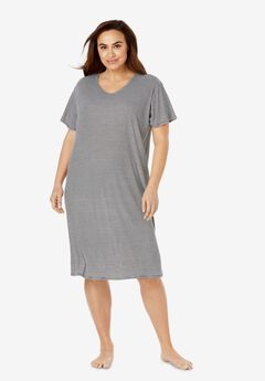 Ribbed Sleepshirt by Dreams & Co.®,