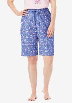 Cotton Poplin Pajama Shorts by Dreams & Co.®,