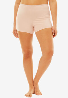 Boyshort By Comfort Choice®, ROSE NUDE
