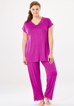 Lace Pajama Set,