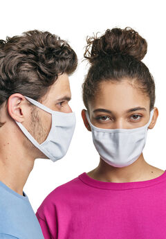 Hanes Wicking Cotton Masks 10-Pack,