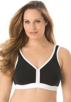 Easy Comfort Back-Hook Bra By Comfort Choice®,