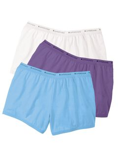 3-Pack Boyshort by Comfort Choice®, MULTI PACK, hi-res