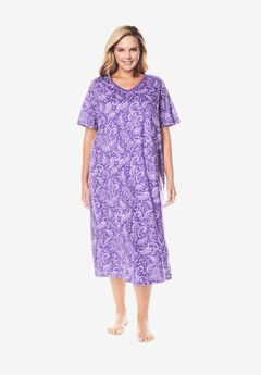 Long Print Sleepshirt by Dreams & Co.®,