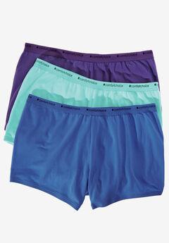 3-Pack Boyshort by Comfort Choice®,