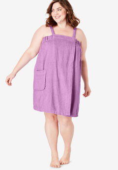 Dreams & Co.® Terry Towel Wrap, LIGHT ORCHID