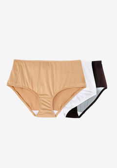 3-Pack Smoothing Full-Cut Brief by Comfort Choice®, BASIC PACK