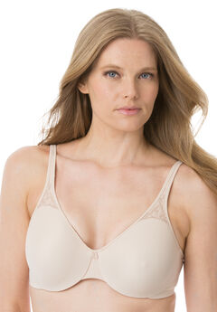 Bali® Best Seller Passion for Comfort Seamless Minimizer     Underwire Bra, SOFT TAUPE