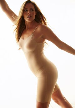 Invisible all-in-one long leg by Secret Solutions® Curvewear, NUDE, hi-res