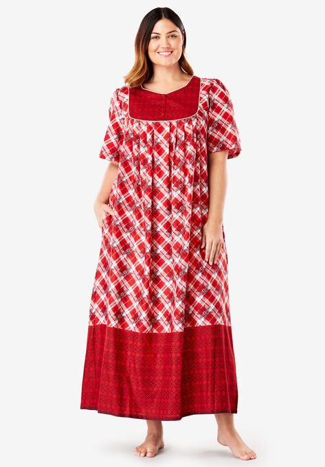 Long Lounger By Only Necessities Plus Size Lounge Dresses Roamans