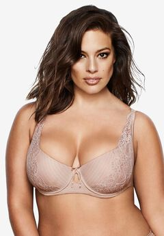 Essential Diva Bra by Ashley Graham®, CAPPUCCINO