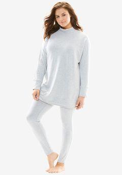 Sweatshirt Lounge Set by Dreams & Co.®,