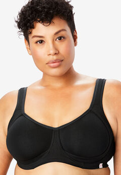 Outer Wire Bra by Comfort Choice®, BLACK