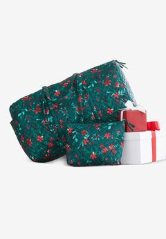 Quilted Duffle & Pouch Set,