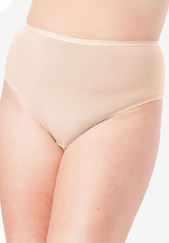 3-Pack High-Cut Brief by Comfort Choice®, NUDE PACK