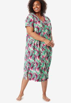 Long Print Sleepshirt by Dreams & Co®,