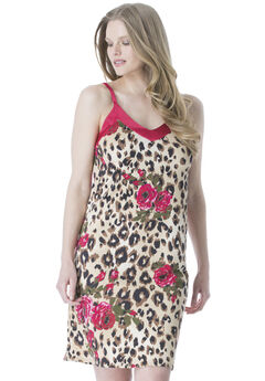 3182ecd6d Printed Jersey Chemise by Amoureuse