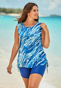 Swim Tank Coverup with Side Ties ,