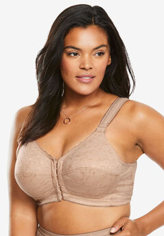 Lace Wireless Posture Bra by Comfort Choice®, NUDE