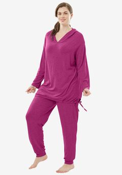 Lightweight Lounge Set by Dreams & Co.®, BRIGHT BERRY, hi-res