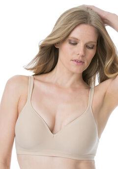 Bra, stretch foam concealing wireless by Bali®, NUDE