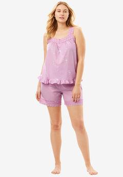 2-Piece PJ Shorts Set by Dreams & Co.®,
