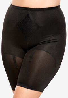 Firm Control Thigh Slimmer, BLACK