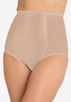 High-waist mesh shaping brief by Secret Solutions® Curvewear,