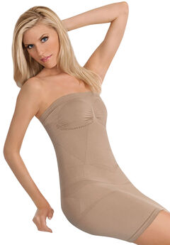 Julie France Strapless Dress Shaper, NUDE, hi-res