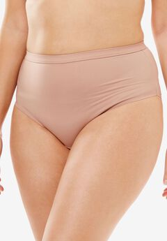 No-Show High-Cut Brief by Comfort Choice®, NUDE