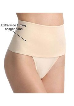 Rago Soft Shaping Wide Band Thong,